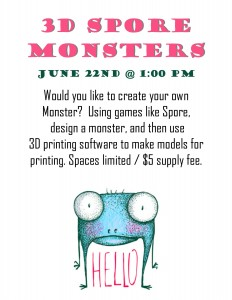 6_22 3D Spore Monsters