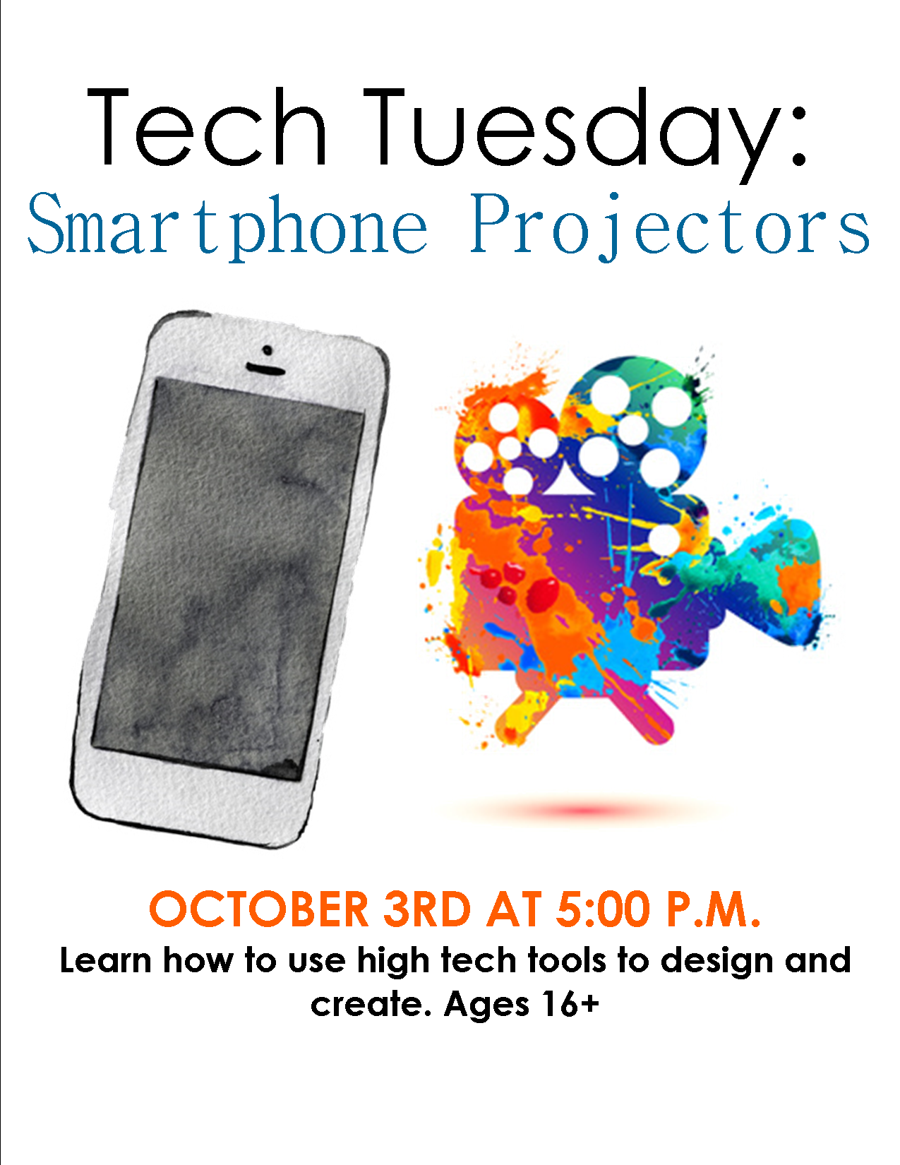 Tech Tuesday: Smartphone Projector