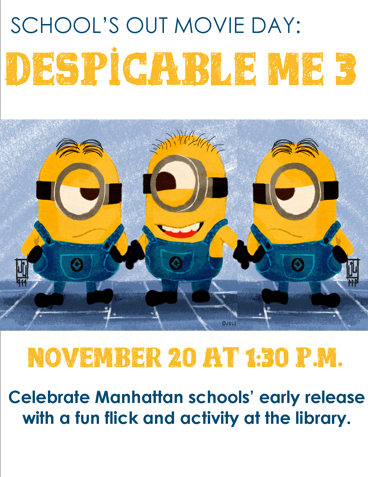 Movie Day: Despicable Me 3