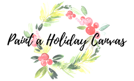 Paint a Holiday Canvas