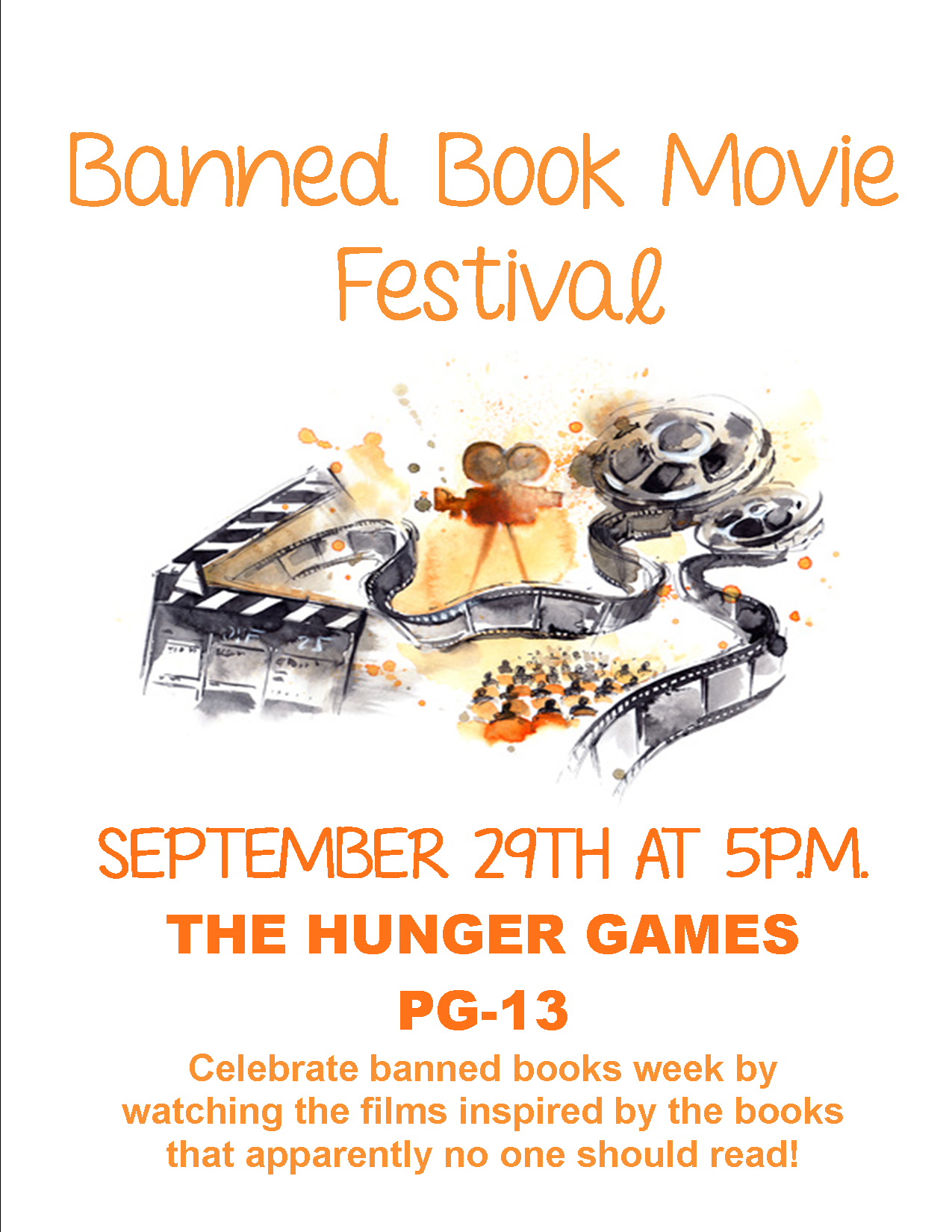 Banned Book Movie Festival