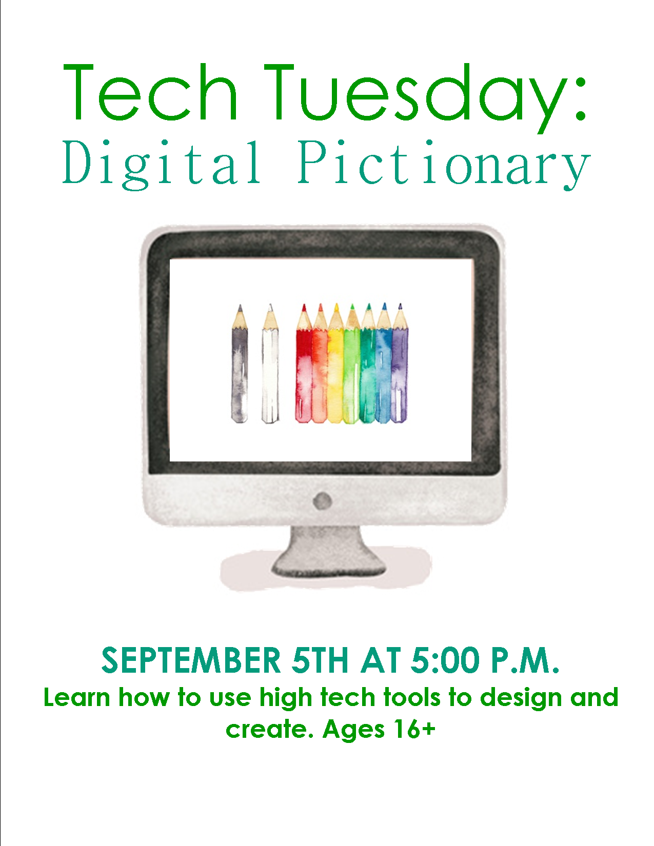 Tech Tuesday: Digital Pictionary