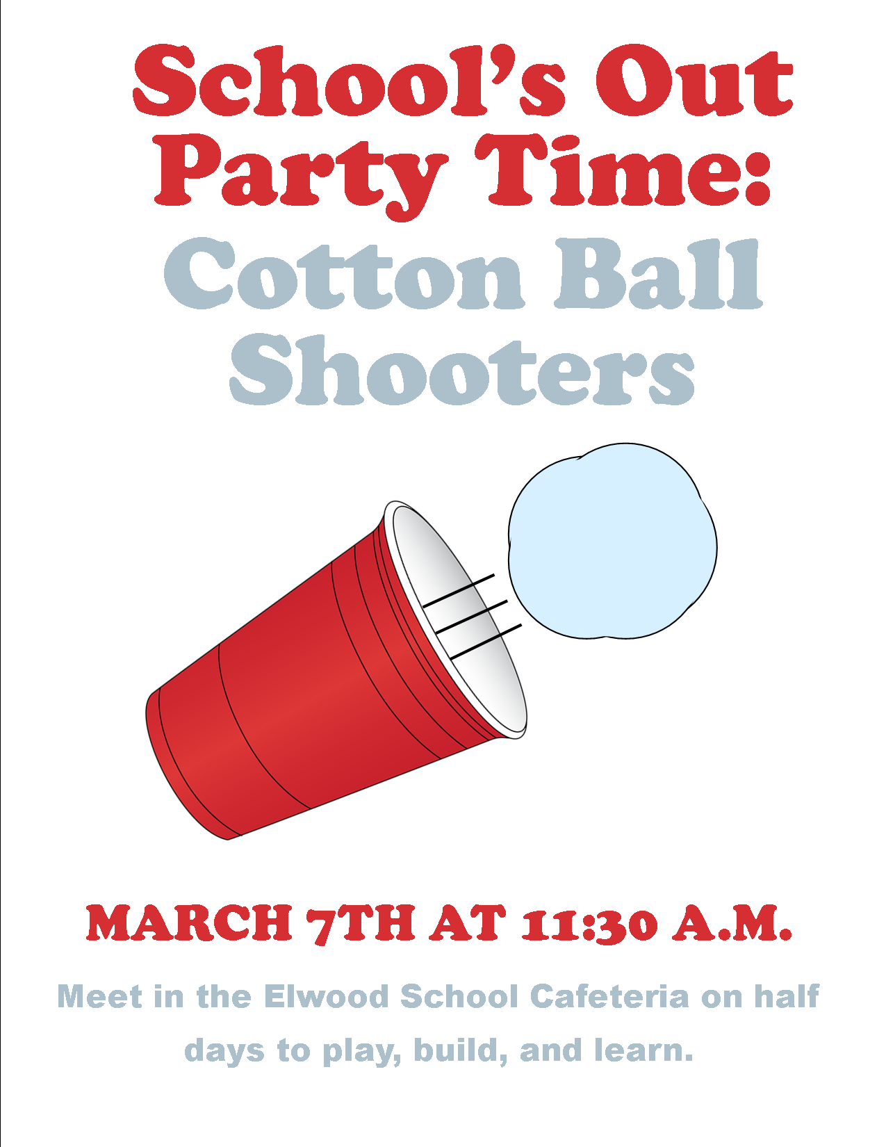 Party Time Cottonball Shooters