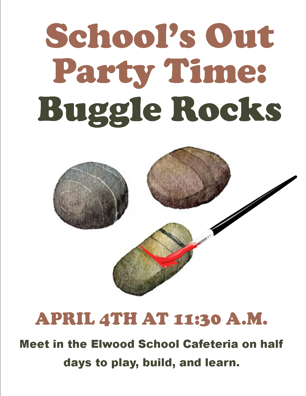 School's Out Party Time: Buggle Rocks