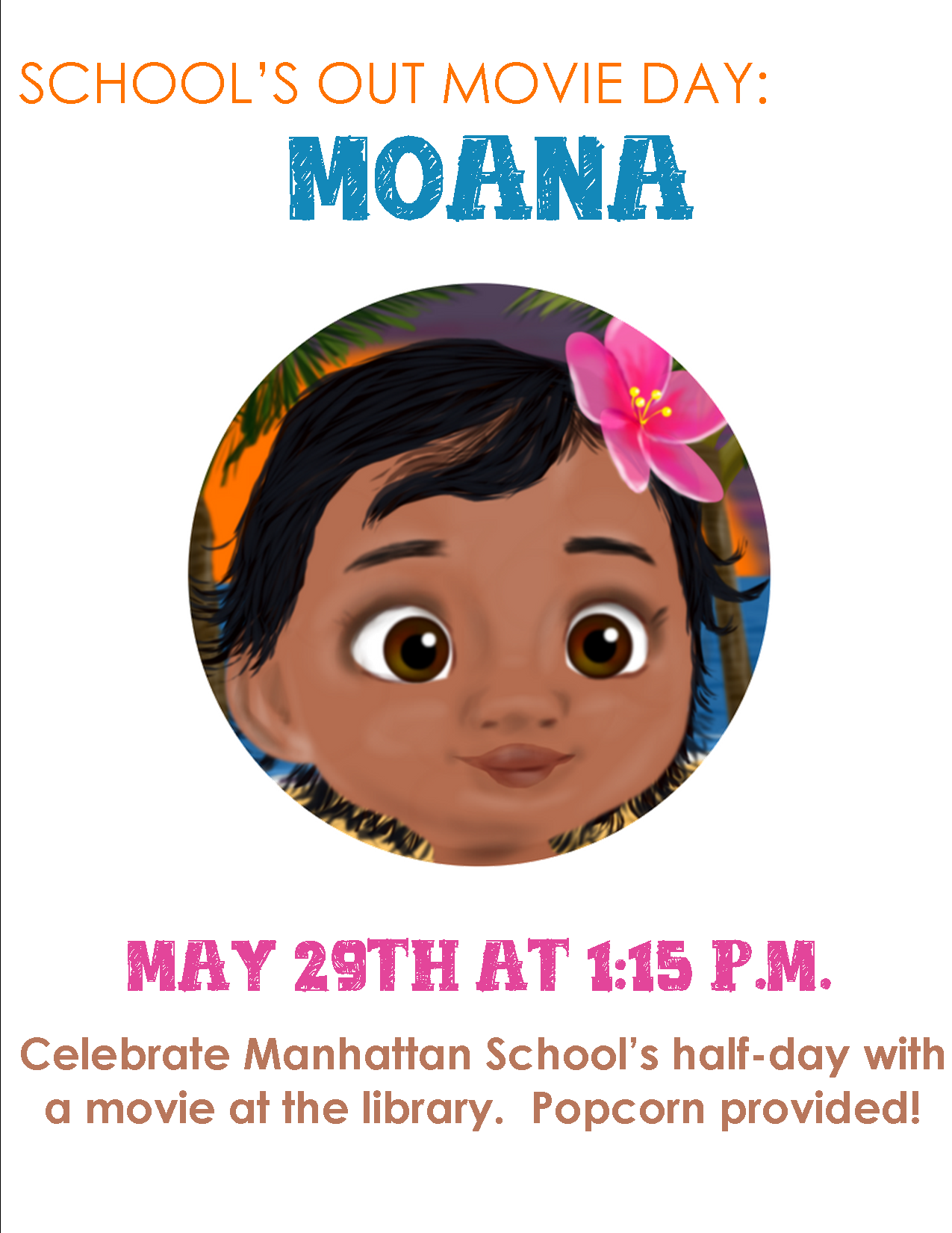 School's Out Moana